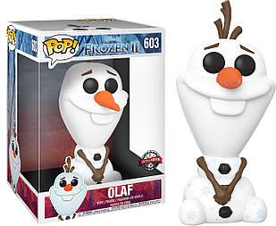 Фигурка Funko Pop Фанко Поп Холодное сердце Олаф Frozen Olaf 25 см F O 603