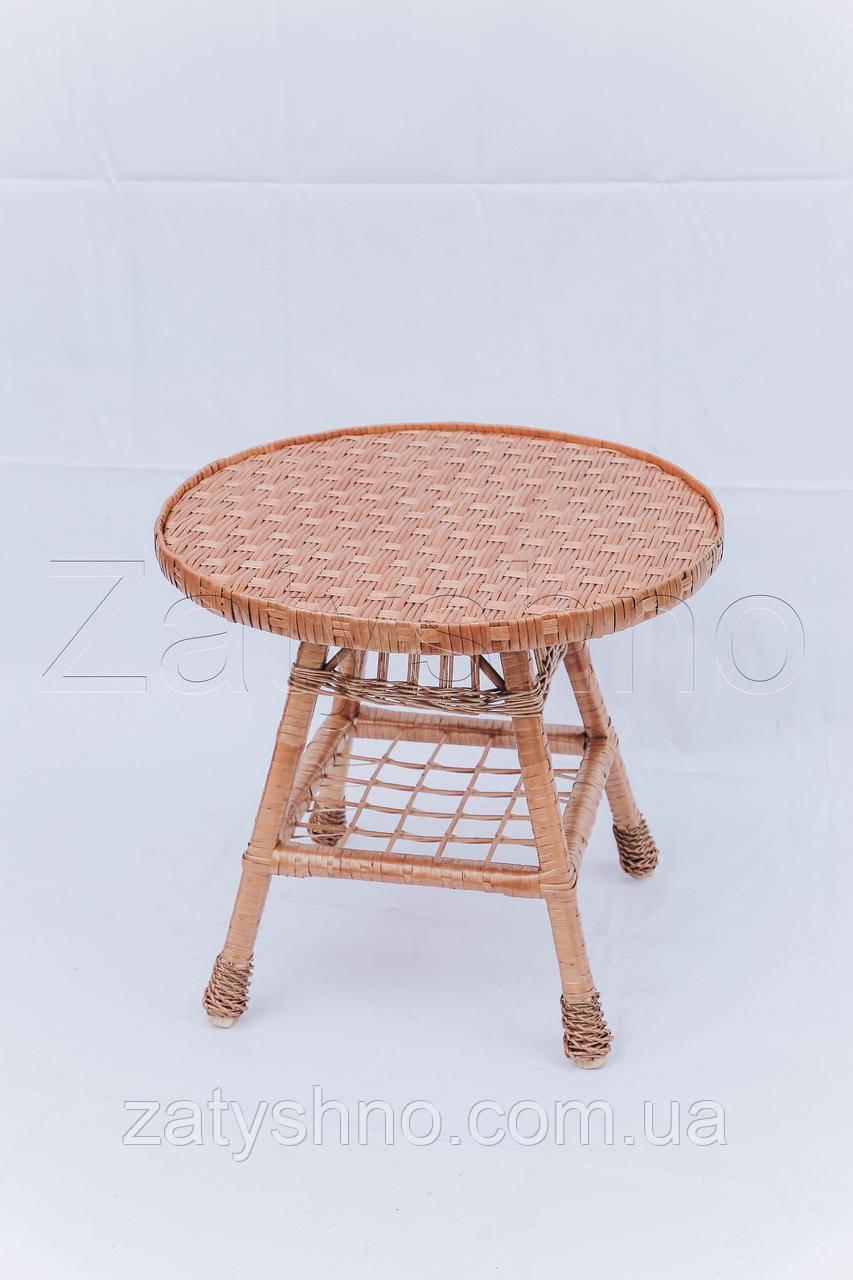 Столик плетеный на кухню | столик из лозы | столик плетёный из лозы