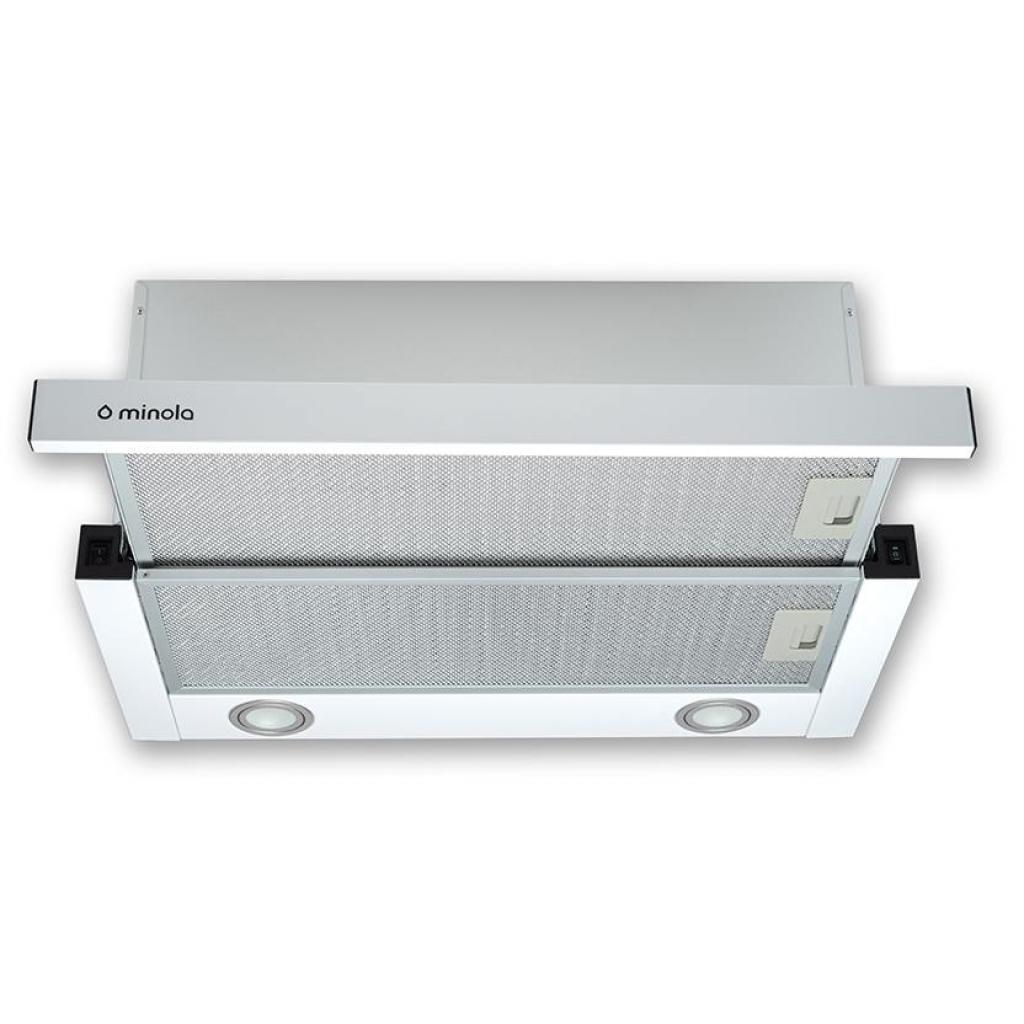 Вытяжка кухонная MINOLA HTL 6612 WH 1000 LED