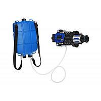 Игрушечное оружие Same Toy Водный электрический бластер с рюкзаком (777-C2Ut)