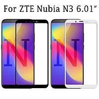 Защитное стекло с рамкой для ZTE Nubia N3