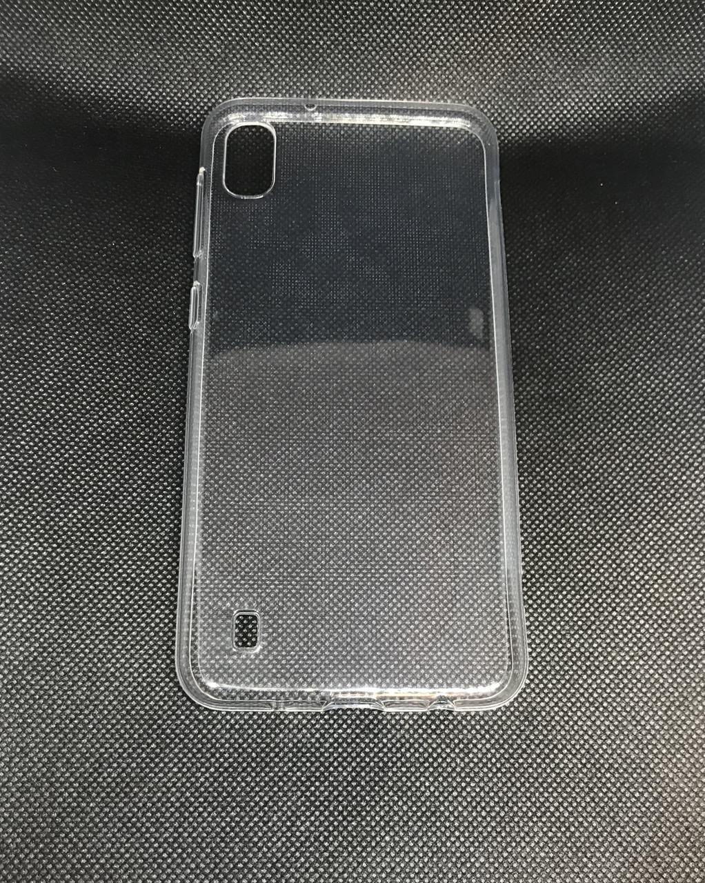 Чехол силиконовый для Samsung Galaxy A10 2019 (A105F) ультратонкий прозрачный