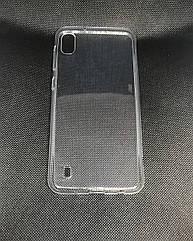 Samsung Galaxy A10 2019 (A105F) прозрачный силиконовый ультратонкий чехол/ бампер/ накладка