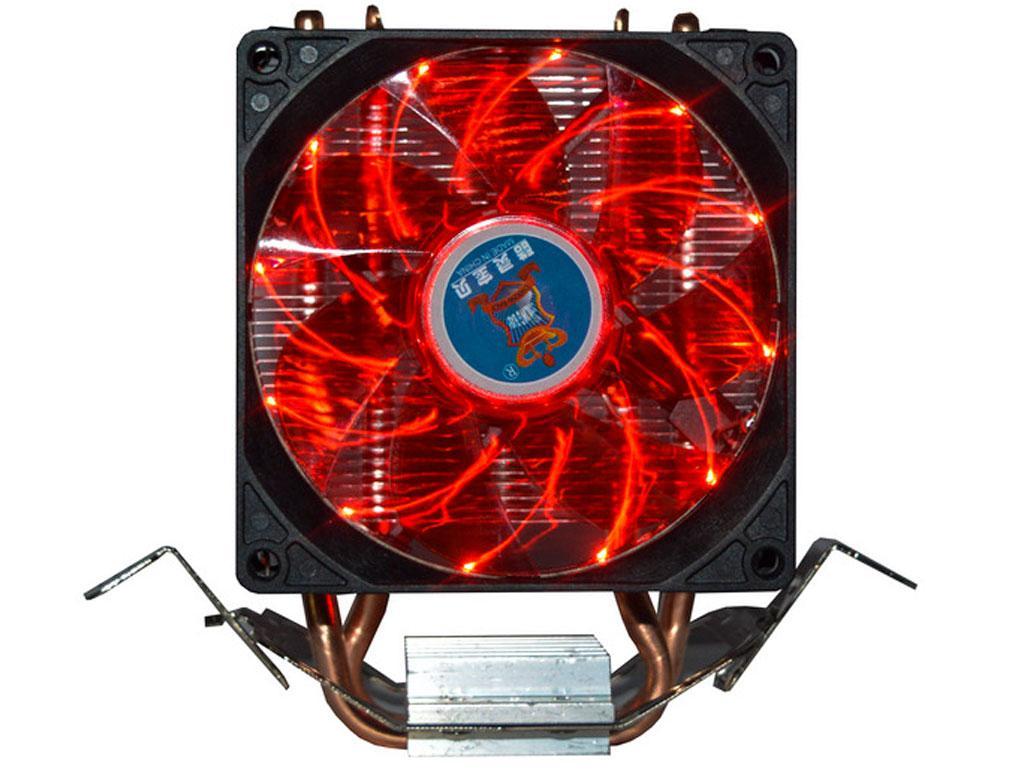 Вентилятор (кулер) для процессора Cooling Baby R90 red led