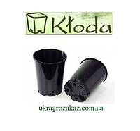 Горшок для рассады 3 л (16x20,5) круглый,высокий,чёрный 50 шт/уп (пр. Польша)
