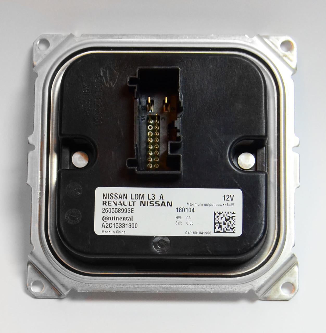 Блок модуль LED фары Nissan Sentra Infinity QX50 A2C15331300 260558993E