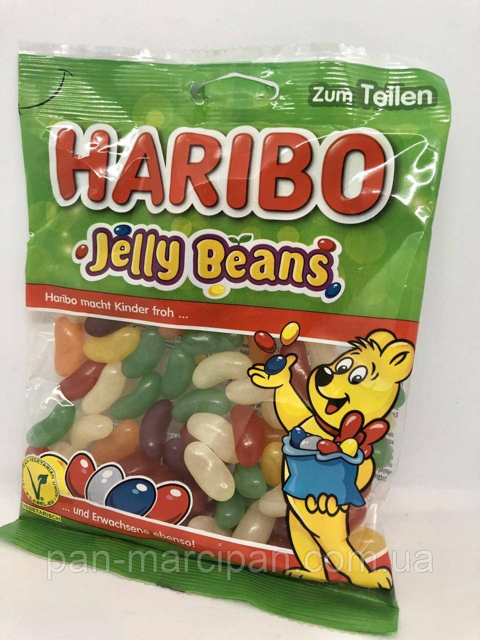 Желейки Haribo Jelly Beans 175г Німеччина