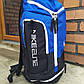(БРАК) Баскетбольный рюкзак с карманом для мяча Nike Elite Air Max Blue, фото 2