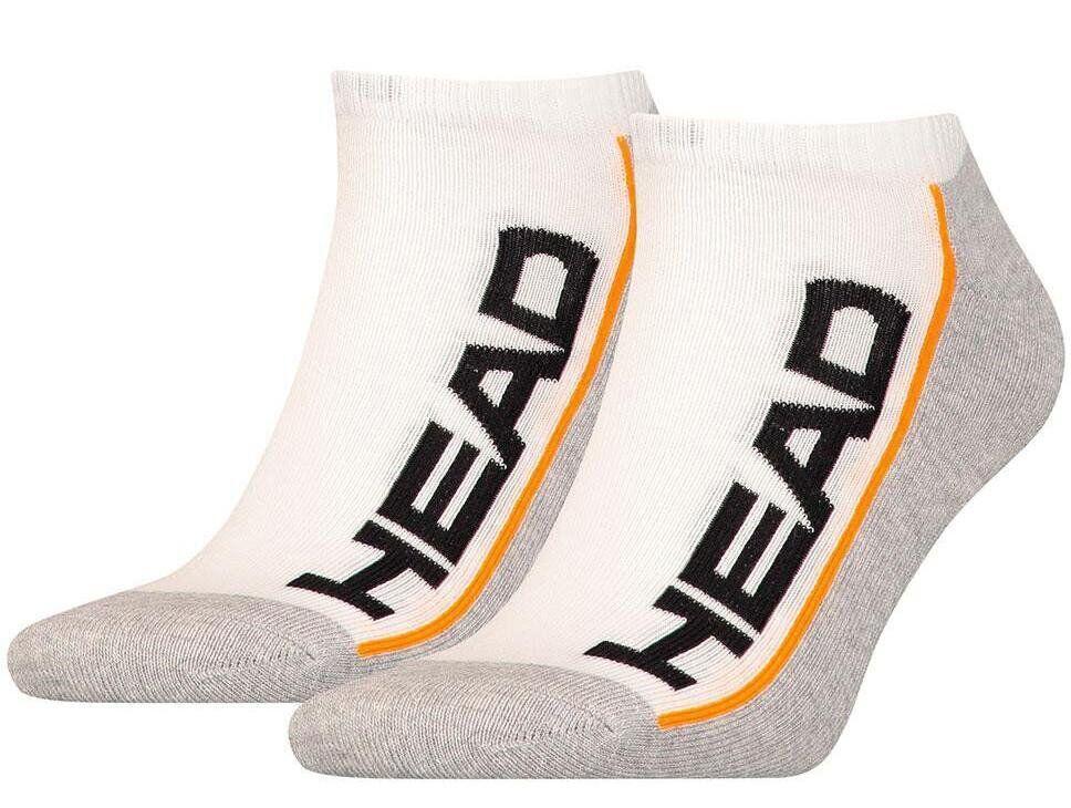 Носки Head Performance Quarter 2-pack (white / gray)