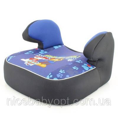Детское автокресло бустер 15-36 кг Nania Dream Disney Paw patrol blue