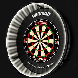 Фирменный набор для игры в дартс Winmau LED Lux