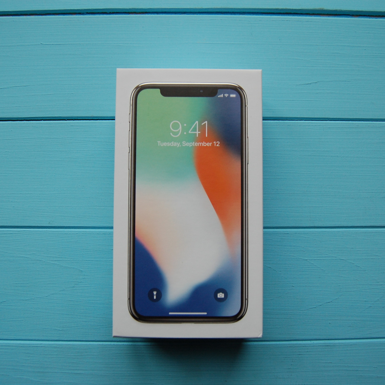Коробка Apple iPhone X White