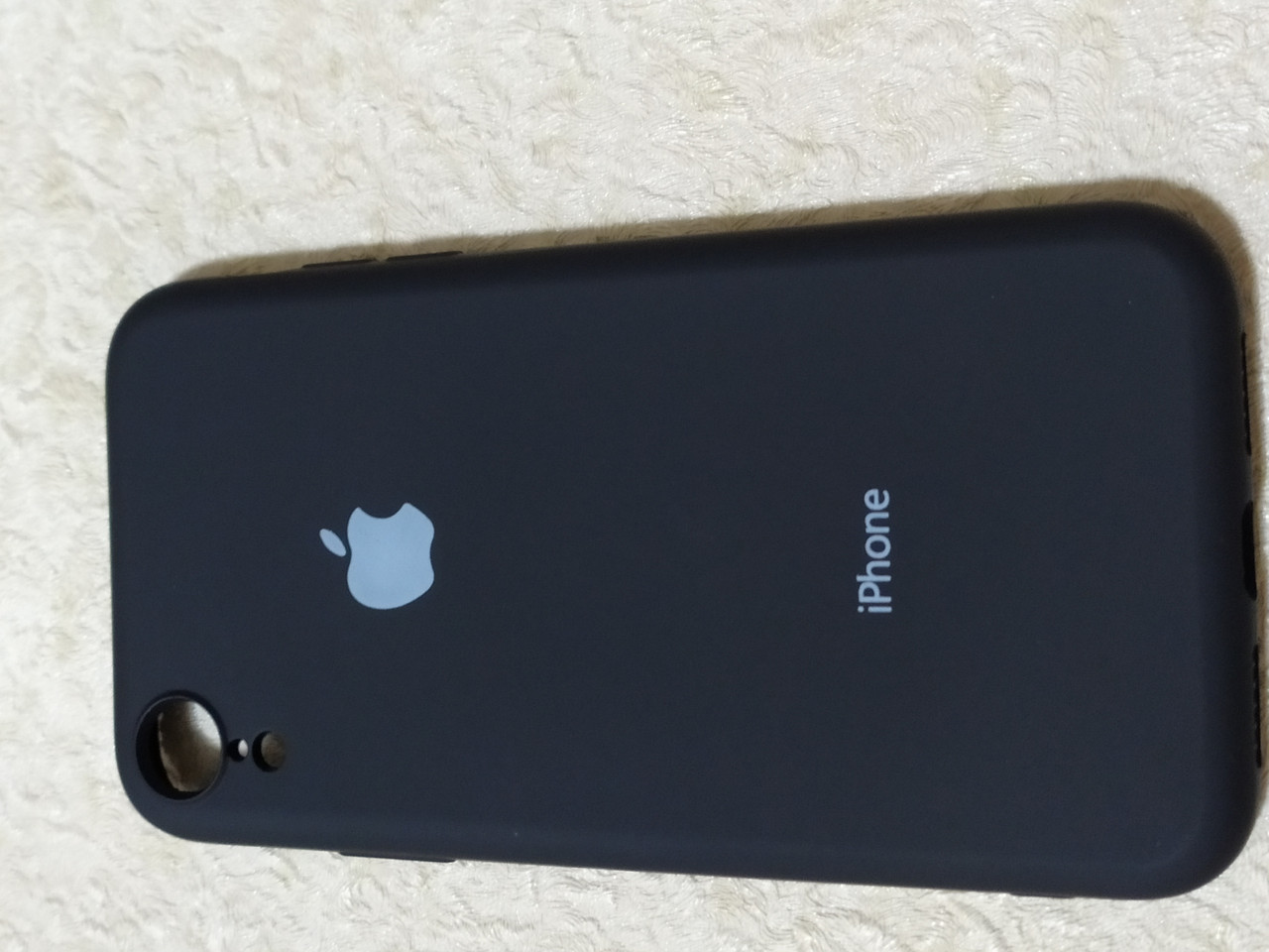 Накладка   Silicon Cover full   для  iPhone XR 6.1   (черный)
