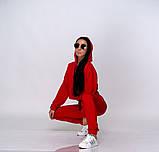 Женский теплый спортивный костюм батник и штаны двунить размер: SM, ML., фото 9