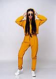 Женский теплый спортивный костюм батник и штаны двунить размер: SM, ML., фото 10