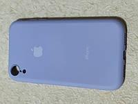 Накладка   Silicon Cover full   для  iPhone XR 6.1   (фиолетовый)