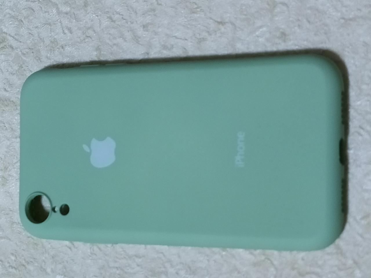 Накладка Silicon Cover full для iPhone XR 6.1 (м'ятний)