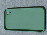 Накладка Silicon Cover full для iPhone XR 6.1 (м'ятний), фото 2