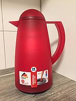 Термос 1л для чая и кофе TRANSPARENT GEFORSTET