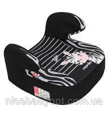 Дитяче автокрісло-бустер 15-36 кг Nania Dream Animals Zebra