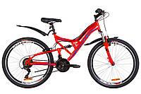 """Велосипед подростковый горный 24"""" Formula ATLAS 2019 (рама 14"""", красный)"""
