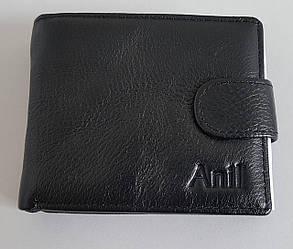 Бумажник мужской «Anil» черного цвета