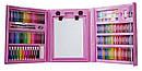 Набор для творчества Набор для рисования 176 предметов с мольбертом Розовый, фото 3