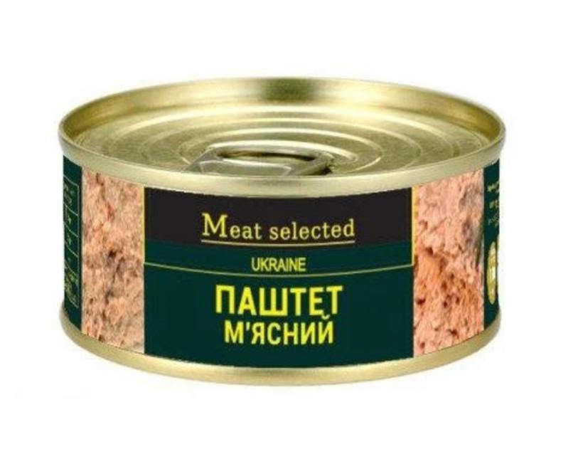 "Паштет мясной 100г ""Meat selected"""