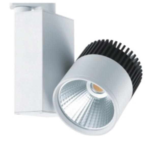Акцент LT 25W 2800Lm 80Ra трёхфазный трековый LED-светильник (125х100мм)