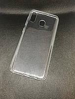 Samsung Galaxy A30 2019 (A305F) прозрачный силиконовый ультратонкий чехол/ бампер/ накладка