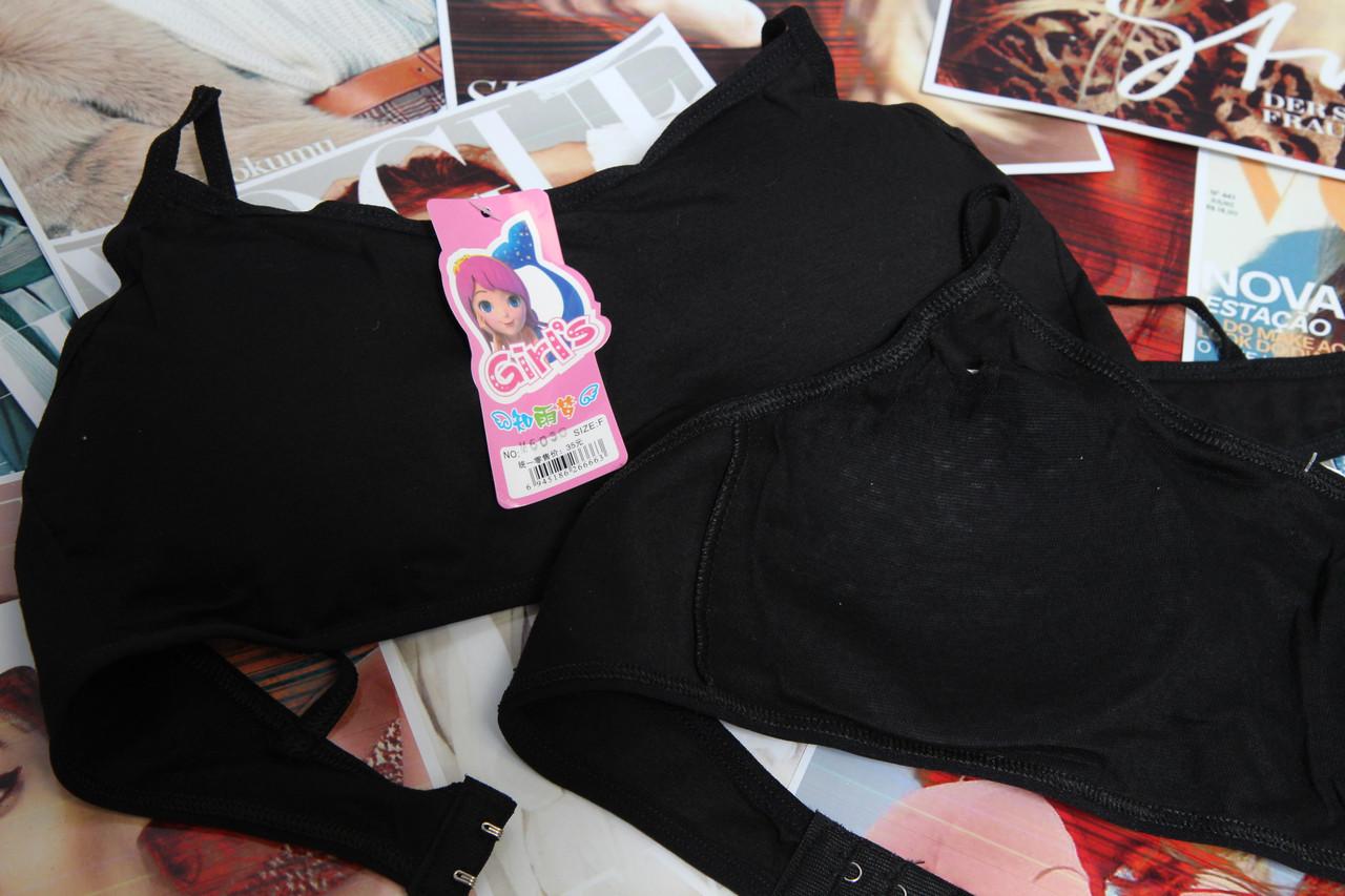 6030 Топ Детский чорный GIRLS