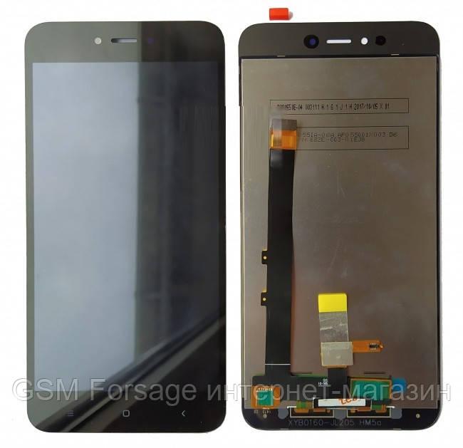 Дисплей Xiaomi Redmi Note 5A complete Black Original