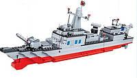 Конструктор JIE STAR 20101 Военный корабль 2 в 1, 549 деталей
