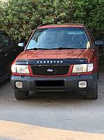 Мухобойка +на капот  Subaru Forester с 1997-2000 г.в. (Субару Форестер) Vip Tuning