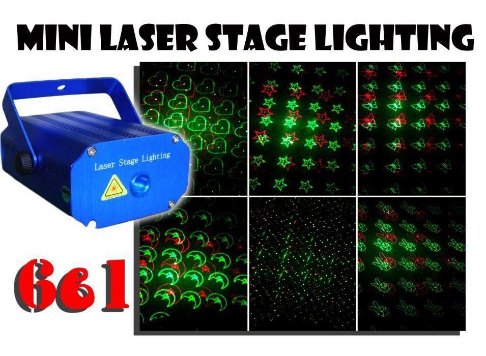 Лазерный проектор Mini Laser 6 в 1 c триногой