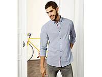 Рубашка мужская с длинным рукавом германия livergy.евро размер хл.есть замеры!, фото 1