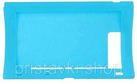 Nintendo Switch Сіліконовый чохол блакитний