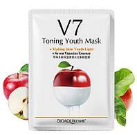 Витаминная омолаживающая маска с экстрактом яблока BIOAQUA Toning Youth Mask Apple
