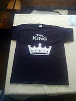 Футболки парні Queen & King