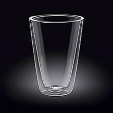 Стакан стеклянный с двойным дном (200 мл / 300 мл / 400 мл / 500 мл) Wilmax Thermo WL-888703/A
