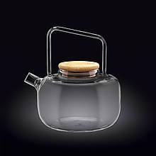 Чайник стеклянный 1000 /1200 мл Wilmax WL-888821/A