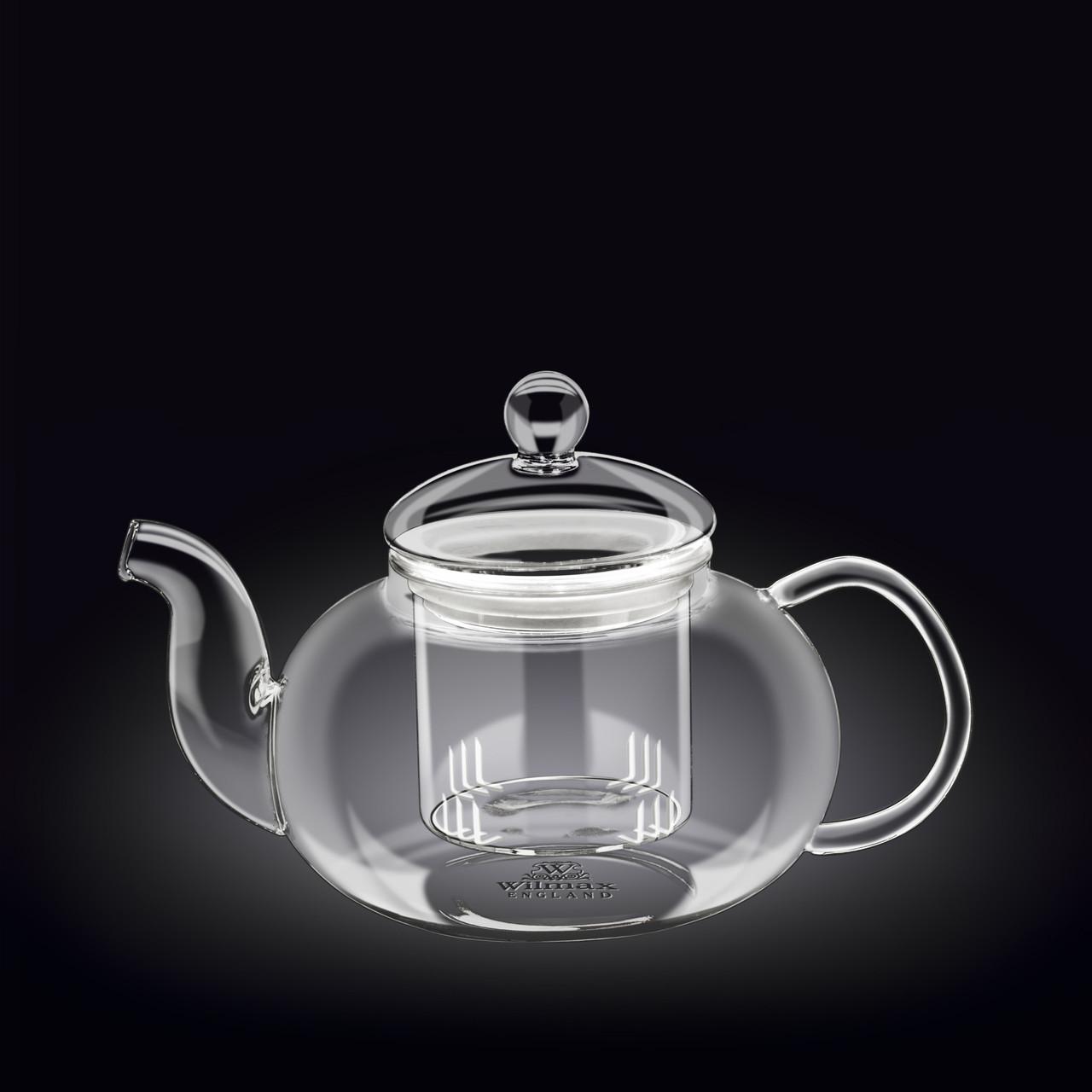Чайник стеклянный 1200 мл Wilmax WL-888815
