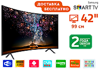 """Телевизор Samsung 42"""" FullHD UltraHD, Smart TV + T2. Самсунг, Смарт, фото 1"""