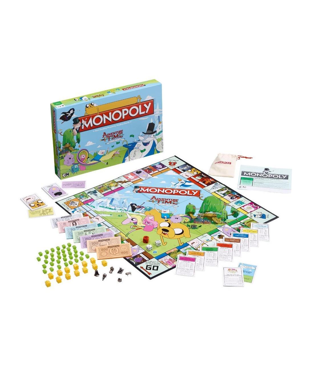 Настільна гра Monopoly Adventure Time