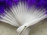 Веер перьевой фиолетовый, фото 4