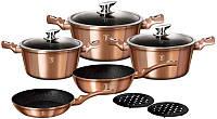 Набор кухонной посуды Berlinger Haus Rose Gold 10 предметов