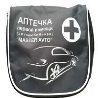 """Аптечка автомобильная АМА-1 (до 9 человек) """"Master Avto""""  Серая"""