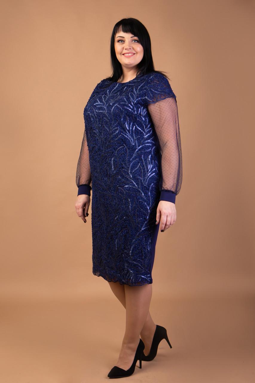 Качественное платье с паетками и комбинированным рукавом.Разные цвета