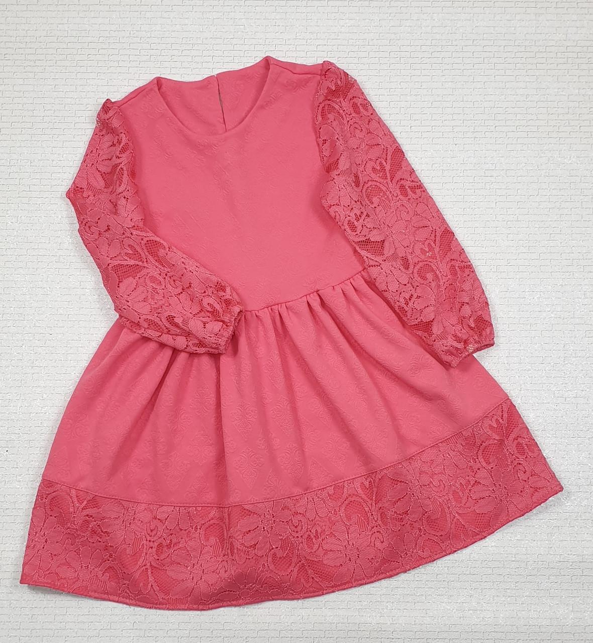 Нарядное Платье для девочки 122-140 золото