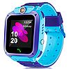 Детские умные часы с камерой smart watch UNI TD07S Чёрно-Синий, фото 3